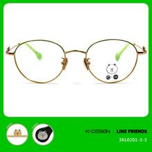 K-DESIGN | LINE FRIENDS◆橢圓框-草綠/熊大金(熊大金鑄)