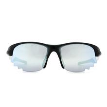 Nurbs 運動太陽眼鏡「時尚護眼框型」➣無限未來/卓越銀