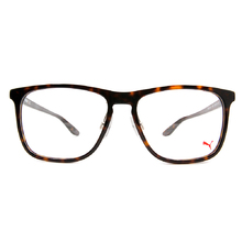 PUMA l 街頭帥氣 威靈頓框眼鏡  l 斑駁棕