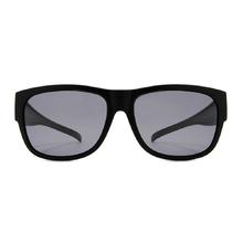 K-DESIGN 套鏡 l 復古時代方框眼鏡墨鏡  爵士黑