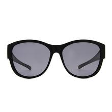 K-DESIGN 套鏡 l 都會時尚波士頓框眼鏡墨鏡  尊貴黑