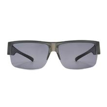 K-DESIGN 套鏡 l 領袖風眼鏡範眉框眼鏡墨鏡  低調灰
