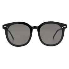 K-DESIGN 20▼巨星氣勢大框面款墨鏡 鏡面黑