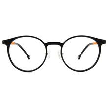 K-DESIGN KREATE l 廣告款 l 學院復古波士頓框🎨 黑/橙黃