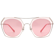 HORIEN 低調奢華多邊框墨鏡  ☀ 溫柔粉