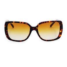 BURBERRY 經典格紋時尚大方框 玳瑁色/漸變棕 (BE4198F-3002T5)