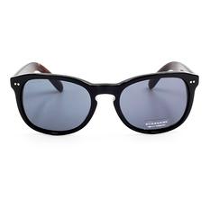 BURBERRY 質感奢華渲染款 低調黑/灰色鏡片 (BE4214F-355487)