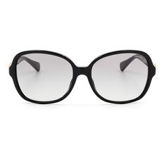 COACH 經典雙C扣環時尚款 雅典黑 (8123F-500211)