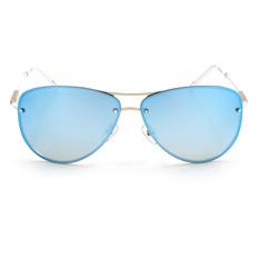HELEN KELLER 時尚螺紋水鑽飛官款 鏡水藍 (H8342-N11R)