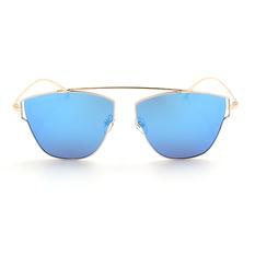 HORIEN 白框藍膜前衛多邊款 古銅金/白  (N6329-P20)