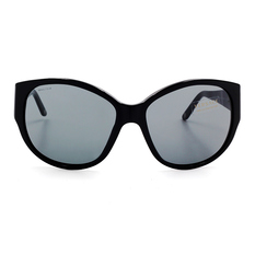 VERSACE 梅杜莎經典LOGO時尚貓眼框 雅典黑 (VE4208-GB1/87)