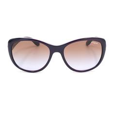 Vogue 時尚設計彩蝶鑲邊款 暗紫蝶影 (VO2944S-228668)