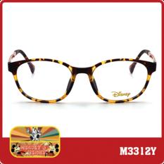 米奇系列  復古彩帶圓框  玳瑁迷霧黃  (M3312Y-1-1-52)