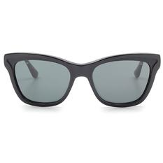 PRADA 簡約典雅風格雙色貓眼框 神秘黑 (PR16PSA-1AB1A1)