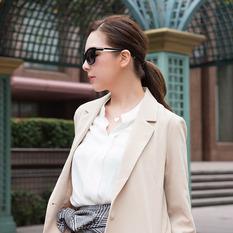 HORIEN 傲慢與偏見時尚雙色款 黑與白 (N6230-P06)