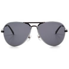 HORIEN 暗黑鋼鐵黑銀雙色飛官款 鏡面銀 (NH8377-P01)