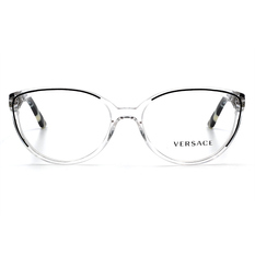 VERSACE 美杜莎的透明世界-簡潮框 白透石紋 (VE3157-960-52)