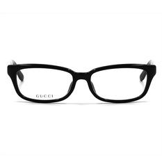 GUCCI 經典浸透格紋優雅框 沉底黑 (9094J-4D4-54)