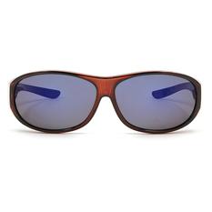 ALAIN DELON 超彈力防風沙護眼框 ▏亮透棕
