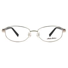 ALAIN DELON 鑲鑽繫綁輕奢鈦框 ▏銀/亮黑