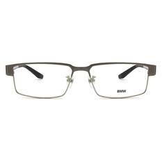 BMW 輕鈦光學眼鏡 T柱編織 ▏霧灰/黑
