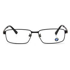 BMW 輕鈦光學眼鏡 鋼碩蓋式 ▏霧黑