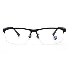 BMW 輕鈦光學眼鏡 質感簡約 ▏深藏青/亮黑