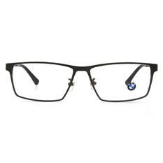 BMW 輕鈦光學眼鏡 簡調水滴 ▏霧槍/亮黑