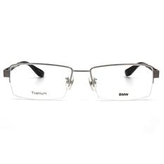 BMW 輕鈦光學眼鏡 細框銀磚 ▏銀/黑