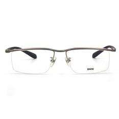 BMW 輕鈦光學眼鏡 韻律點點 ▏霧銀/鐵灰