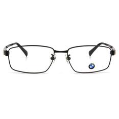 BMW 輕鈦光學眼鏡 T樣彎道 ▏亮黑
