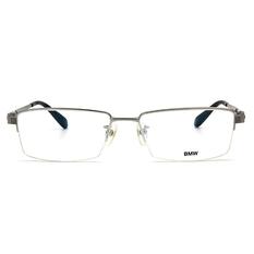BMW 輕鈦光學眼鏡 金牌 ▏亮銀/亮黑