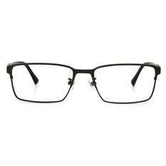 BMW 輕鈦光學眼鏡 雙質交界 ▏霧槍/亮黑