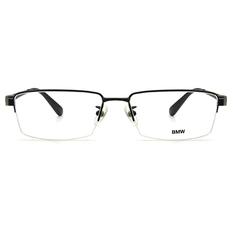 BMW 輕鈦光學眼鏡 金牌 ▏霧黑/亮黑
