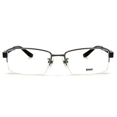 BMW 輕鈦光學眼鏡 交織 ▏亮槍/亮黑