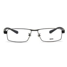BMW 輕鈦光學眼鏡 鐵戰士 ▏亮槍/霧灰