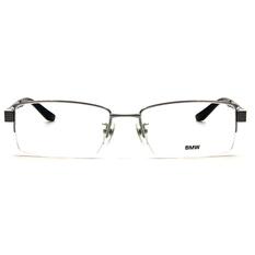 BMW 輕鈦光學眼鏡 交織 ▏亮銀/亮黑