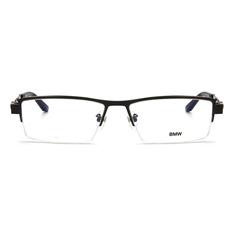 BMW 輕鈦光學眼鏡 鋼柱編織 ▏霧槍/亮黑