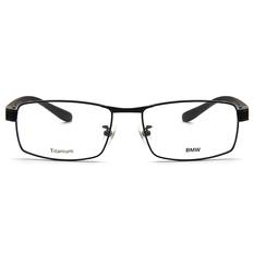 BMW 輕鈦光學眼鏡 韻動點點 ▏霧黑