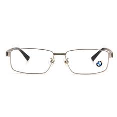 BMW 輕鈦光學眼鏡 鋼碩蓋式 ▏亮銀