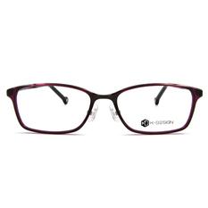 K-DESIGN K-POP系列 浪漫長方框-透深紫/黑