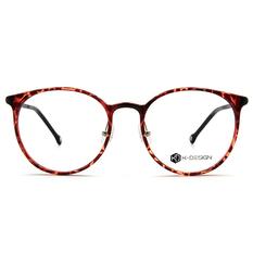 K-DESIGN K-POP系列 古典大圓框-透粹紅/黑