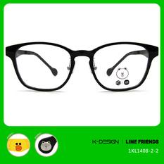 K-DESIGN | LINE FRIENDS◆威靈頓框-亮黑/莎莉黃(熊大銀鑄)