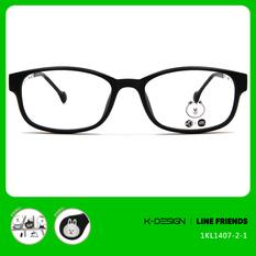 K-DESIGN | LINE FRIENDS◆透邊長方框-霧黑/透巧黑(兔兔銀鑄)