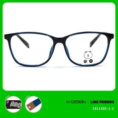 K-DESIGN | LINE FRIENDS◆大方框-亮藍/熊大藍