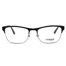 VOGUE 時尚幾何美學眉框 ▏亮黑/銀