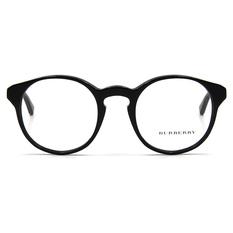 BURBERRY 復古年代雙質圓框 ▏松木黑