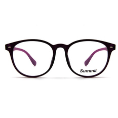 SUMMIT 木紋原始個性框 ▏閃亮紫