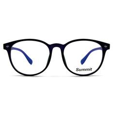 SUMMIT 木紋原始個性框 ▏霧黑/電光藍