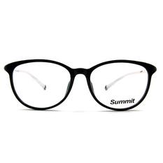 SUMMIT 圓柱風情微貓眼框 ▏亮黑/白